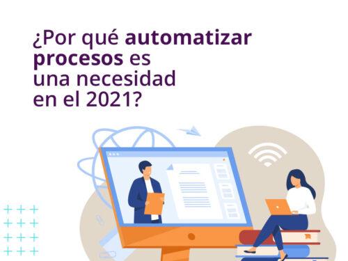 ¿Por qué automatizar procesos es una necesidad en el 2021?