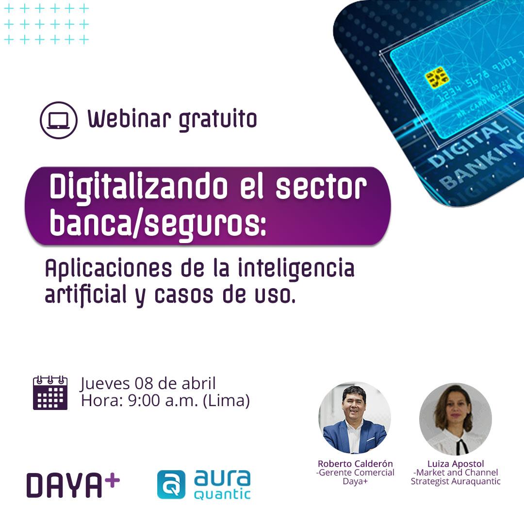 Digitalizando el sector banca/seguros