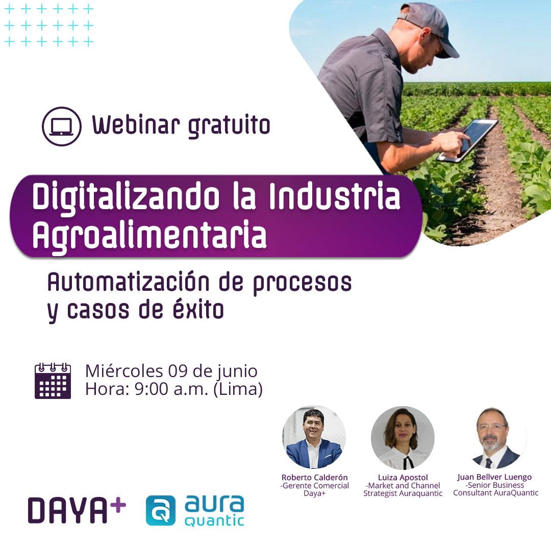 Digitalizando la Industria Agroalimentaria